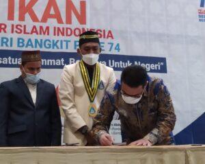 Pelantikan PB PII Periode 2021-2023 Dihadiri Oleh Wagub DKI Jakarta